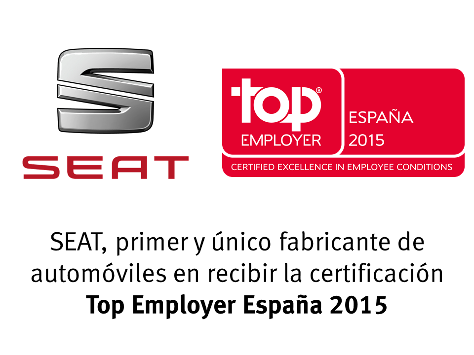 SEAT Top Employer 2015